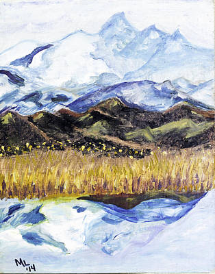 Painting - Denali Dream by Mary LaFever