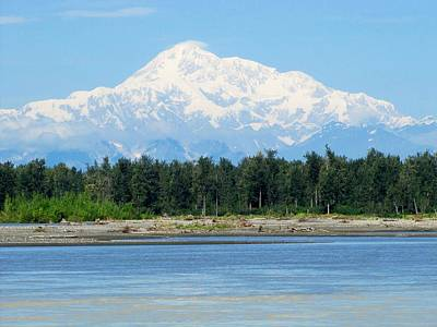 Photograph - Denali From Talkeetna by Lisa Dunn