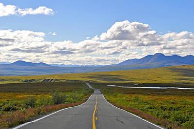 Vintage Movie Stars - Denali Highway by Cathy Mahnke