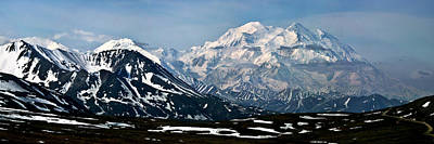 Photograph - Denali National Park Panorama by John Haldane