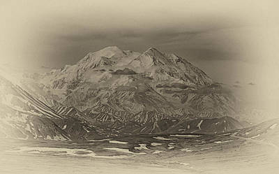 Photograph - Denali Of Old by John Haldane