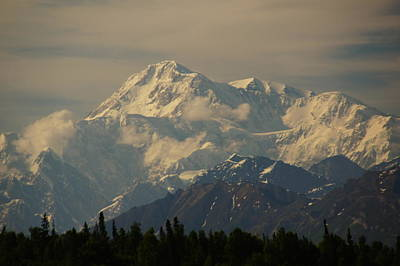 Denali  Or Mt Mckinley Art Print