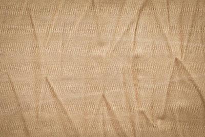 Crinkled Photograph - Denim Background by Tom Gowanlock