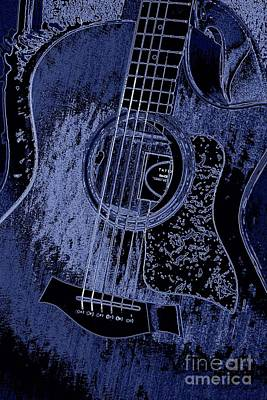Photograph - Denim Blues Taylor by Shelia Kempf