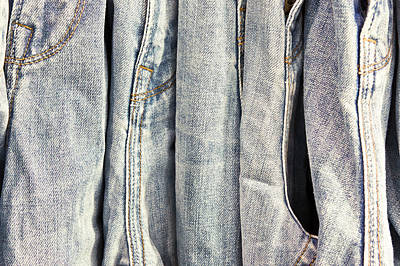 Clothes Clothing Photograph - Denim by Tom Gowanlock