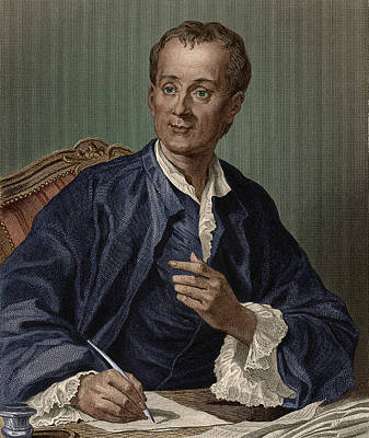 Denis Diderot, French Encyclopedist Art Print by Science Source