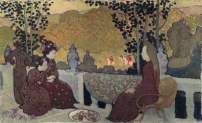 Impressionist Photograph - Denis, Maurice 1870-1943. Breton Women by Everett