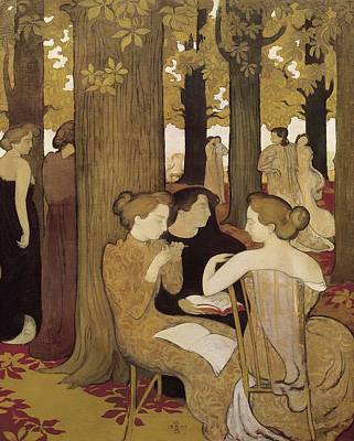 Denis, Maurice 1870-1943. The Muses Art Print