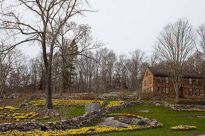 Photograph - Denison Homestead In Bloom by Kirkodd Photography Of New England