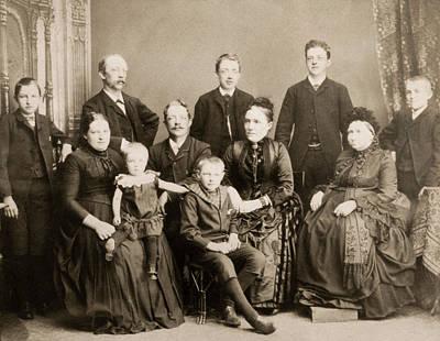 Photograph - Denmark Family, C1886 by Granger