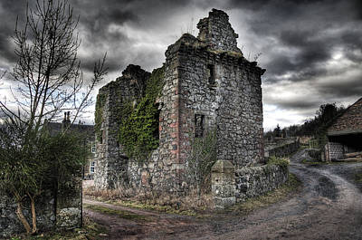 Photograph - Denmilne Castle by Ross G Strachan