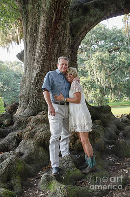 Photograph - Dennis And Cindy 1 by Kathleen K Parker