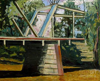 Dennistons Bridge Original by Charlie Spear