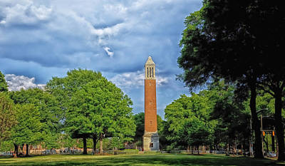 Denny Chimes - University Of Alabama Art Print