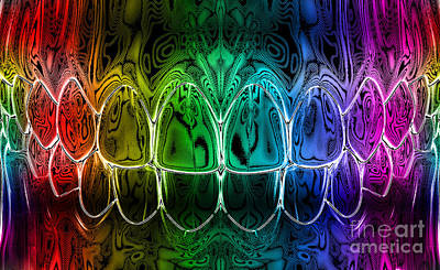 Dental Art Art Print