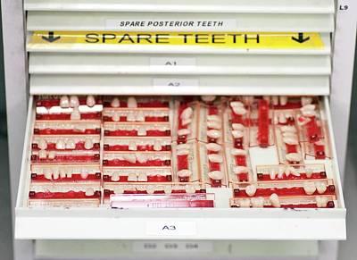 Dental Veneers Art Print by Cmft Manchester