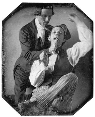 Photograph - Dentist And Patient, 1845 by Granger