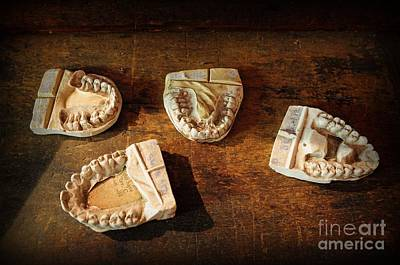 Dentures Photograph - Dentist - Dental Molds by Paul Ward