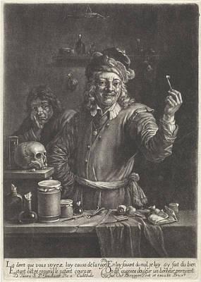 Choosing Drawing - Dentist, Jan Van Der Bruggen by Jan Van Der Bruggen