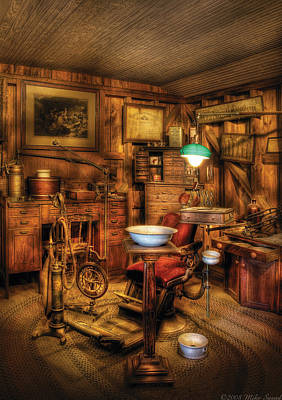 Photograph - Dentist - The Dentist Office by Mike Savad