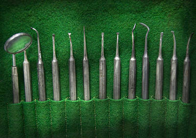 Photograph - Dentist - The Kit by Mike Savad