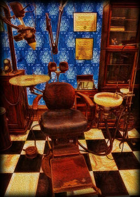 Photograph - Dentist - Victorian Dentist Office by Lee Dos Santos
