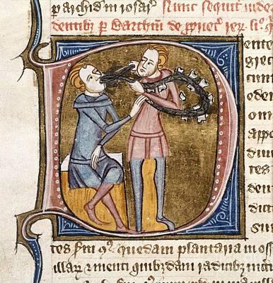 Dentistry, 14th-century Manuscript Art Print by British Library