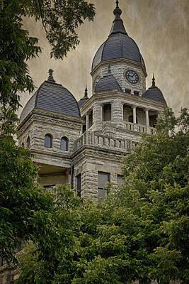 Denton County Courthouse Art Print