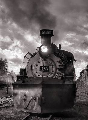 Photograph - Denver And Rio Grande Western 483 Under Steam by Ken Smith
