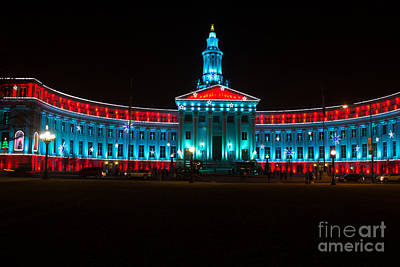 Photograph - Denver City And County Building by Steven Parker