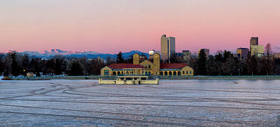 Sports Royalty-Free and Rights-Managed Images - Denver City Park in the Winter by Ronda Kimbrow