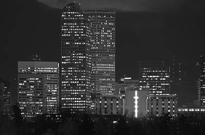 Photograph - Denver Downtown  by Eric Rundle