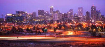 Denver Skyline Photograph - Denver Dreams by Darren  White