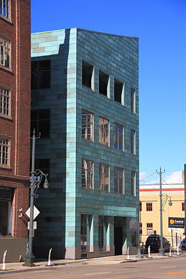 Photograph - Denver Historic Building by Frank Romeo