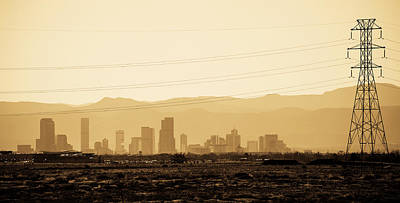 Photograph - Denver In The Distance by Marilyn Hunt