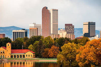 1801 Photograph - Denver In The Fall by Gregory Ballos