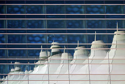 Terminal Photograph - Denver International Airport Architecture by Jim West