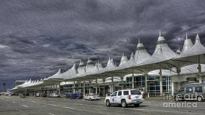 Photograph - Denver International Airport by David Bearden
