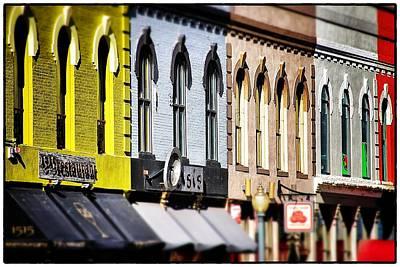 Photograph - Denver Market Street Tilt Shift by For Ninety One Days