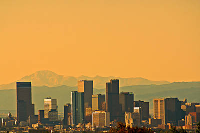 Photograph - Denver Skyline by Colleen Coccia