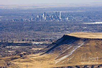 Steven Krull Royalty-Free and Rights-Managed Images - Denver Skyline by Steven Krull