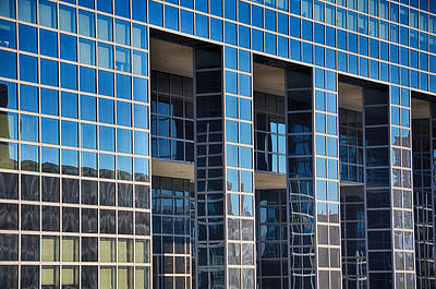 Skyscraper Mixed Media - Denver Skyscraper Reflections 2 by Angelina Vick