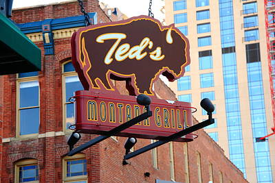Photograph - Denver - Ted's Montana Grill by Frank Romeo