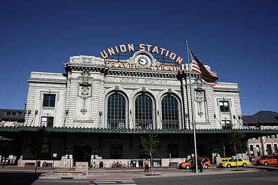 Photograph - Denver - Union Station by Frank Romeo