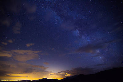 Rocky Mountain National Park Photograph - Denver's Milky Way by Darren  White