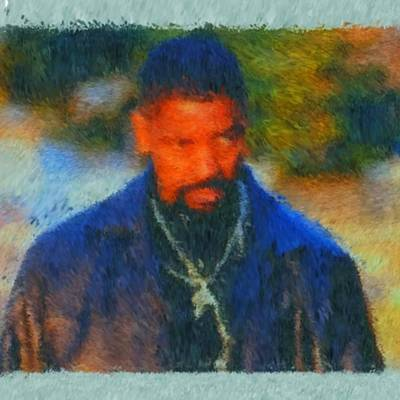 African-american Digital Art - Denzel Washington by John Dunigan