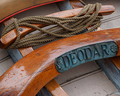 Photograph - Deodar Sailing Ship-3 by Evgeny Lutsko