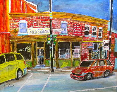 Litvack Painting - Depanneur Courcelle by Michael Litvack