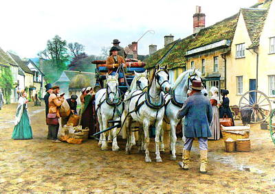 Photograph - Departing Cranford by Paul Gulliver