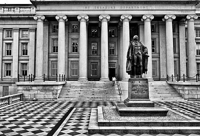 Lender Photograph - Department Of The Treasury I by Kenneth Ortiz
